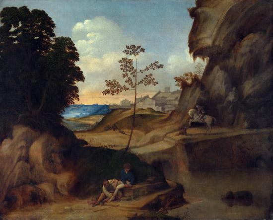 Giorgione, il Tramonto