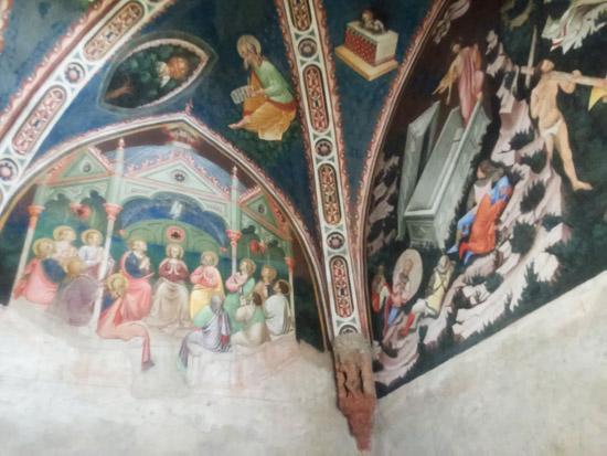 Vista della Cappella Contrari