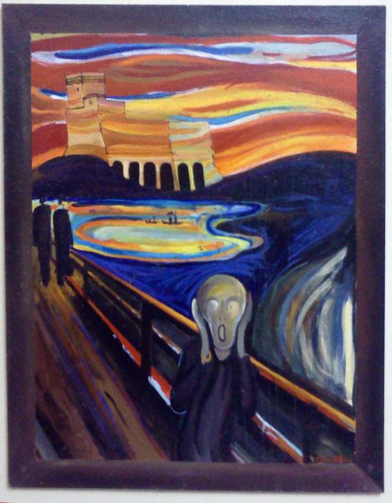 Come avrebbero dipinto i grandi della storia dell 39 arte se - Finestre sull arte ...
