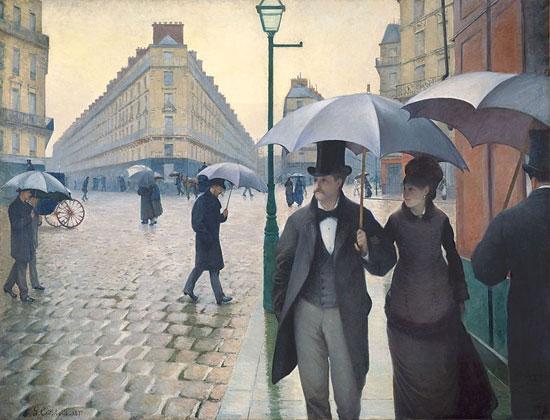 Gustave Caillebotte, Giorno di pioggia a Parigi