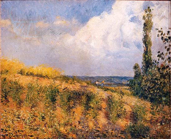 Camille Pissarro, L'approche de l'orage