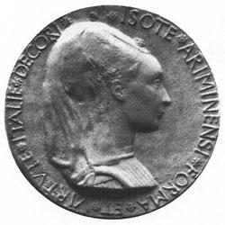 Matteo de' Pasti, Medaglia di Isotta degli Atti