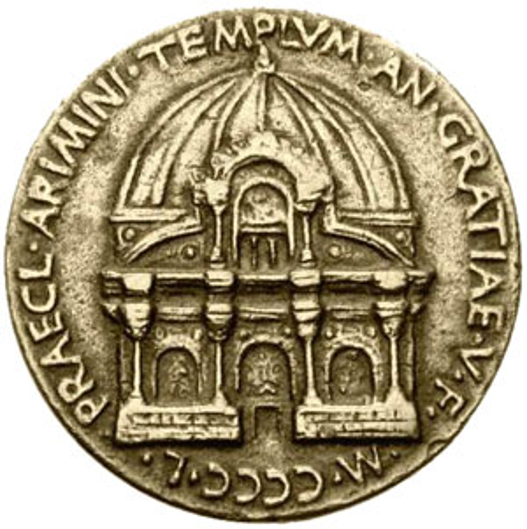 Matteo de' Pasti, Tempio Malatestiano
