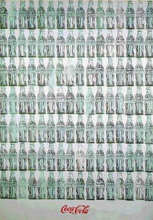 Andy Warhol, Green Coca-Cola Bottles