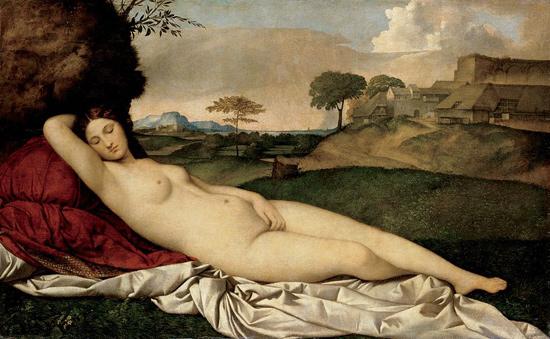Giorgione, Venere