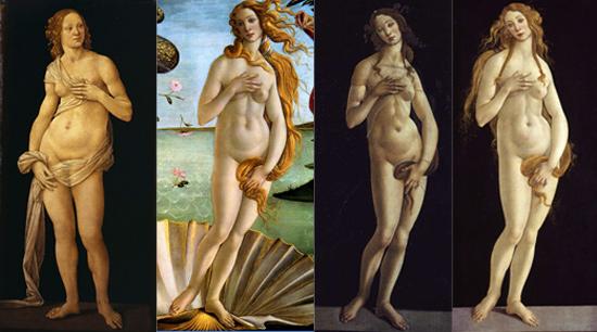 Confronto tra Veneri