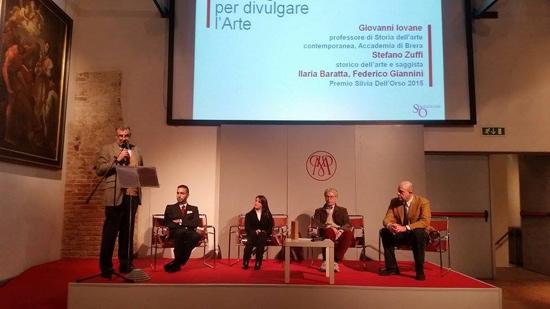 Premio Silvia Dell'Orso 2015, cerimonia di premiazione