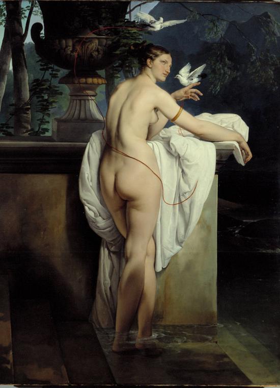 Francesco Hayez, Venere che scherza con due colombe