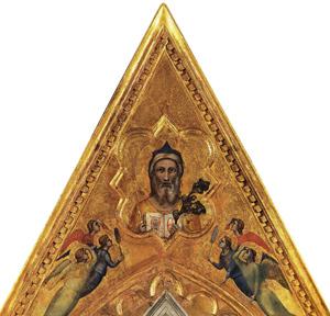 Giotto e Taddeo Gaddi, cuspide del polittico Baroncelli