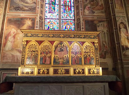 Il Polittico Baroncelli in Santa Croce