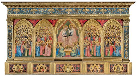 Giotto e Taddeo Gaddi, Polittico Baroncelli