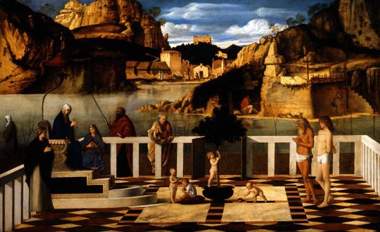 Giovanni Bellini, Allegoria sacra