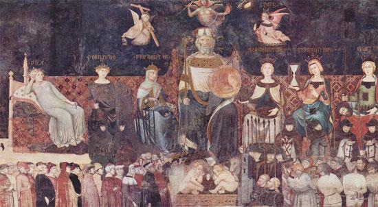 Il Buon Governo di Ambrogio Lorenzetti