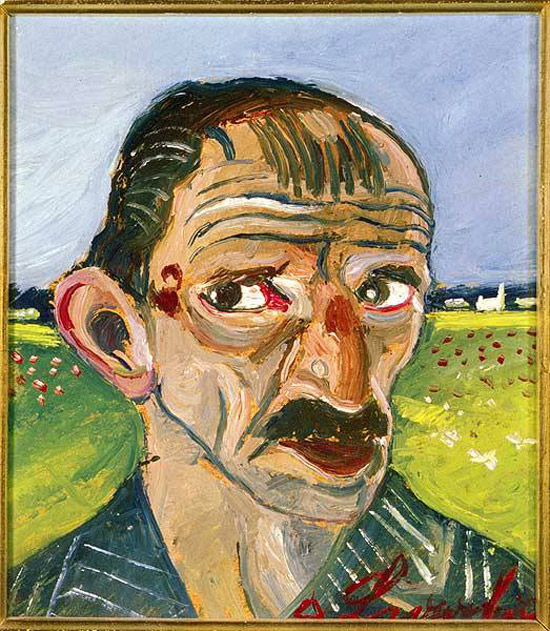 Antonio Ligabue, Autoritratto
