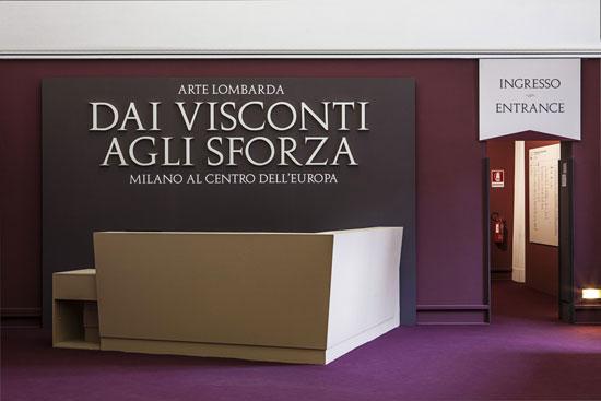 Arte Lombarda dai Visconti agli Sforza, ingresso
