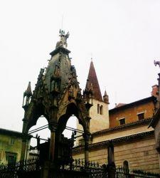 Le arche scaligere: l'imponente e maestoso mausoleo dei signori di Verona