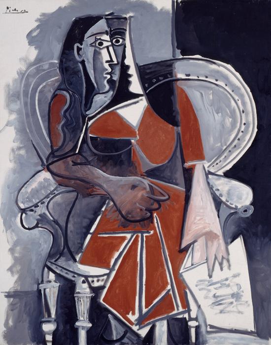Pablo Picasso, Donna seduta