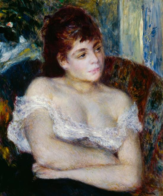 Pierre Auguste Renoir, Donna in poltrona