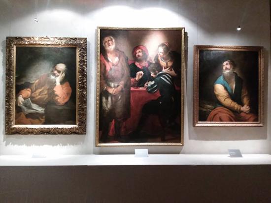 Luciano Borzone, I tre dipinti a confronto