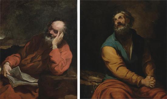 Luciano Borzone, Sant'Andrea e San Pietro