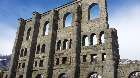 Il Teatro Romano