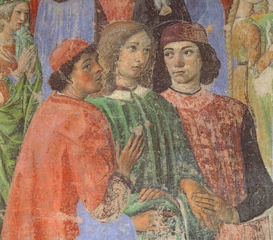 Gli umanisti nella Cappella del Miracolo di Cosimo Rosselli