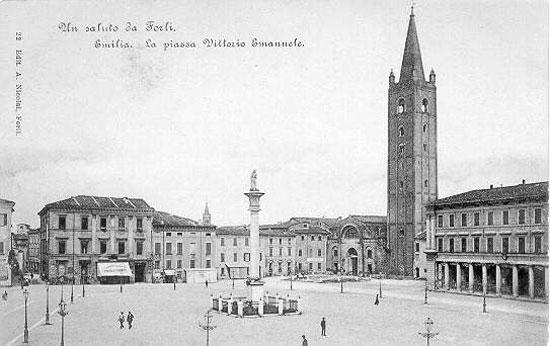 Forl viaggio nelle testimonianze architettoniche del for Architettura fascista in italia