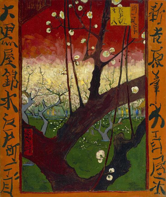 Vincent Van Gogh, Susino in fiore