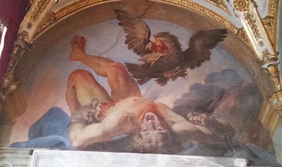 Giovanni Andrea Carlone, Il supplizio di Tizio