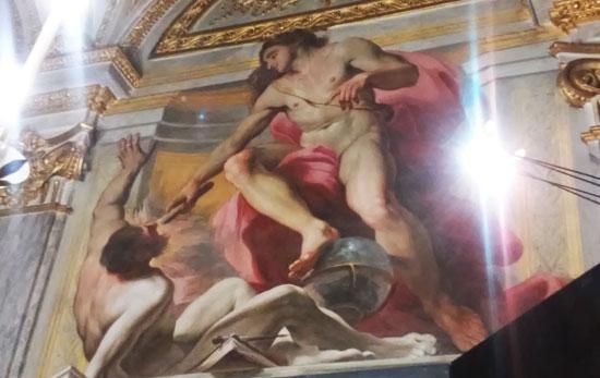 Giovanni Andrea Carlone, Prometeo anima l'uomo