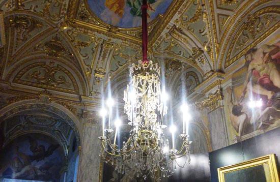 La Galleria della Cappella nel Palazzo Reale di Genova