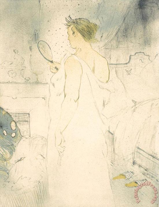 Henri de Toulouse-Lautrec, Femme à la glace