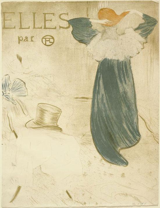 Henri de Toulouse-Lautrec, Frontespizio per Elles