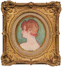 Henri de Toulouse-Lautrec, Ritratto di ragazza