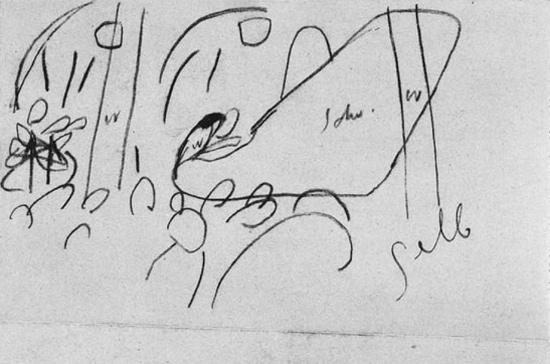 Vasilij Kandinskij, Secondo schizzo per Impressione III (Concerto)