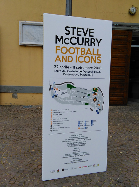 Steve McCurry, Football and Icons