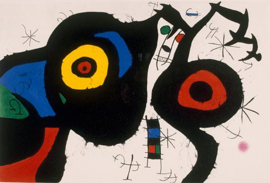 Joan Miró, I due amici