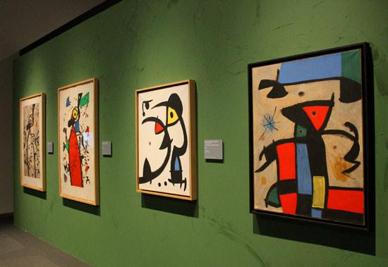 Immagine dalla mostra di Miró al Mudec di Milano