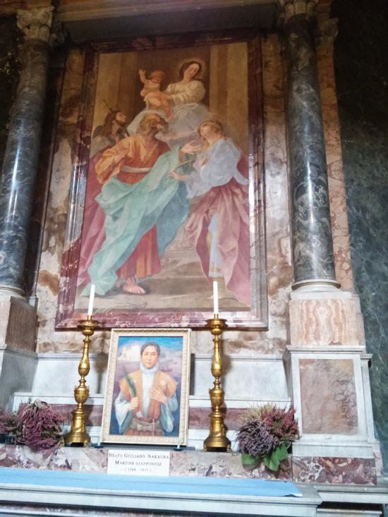 Giovanni Baglione, Madonna con Bambino e santi (1630)