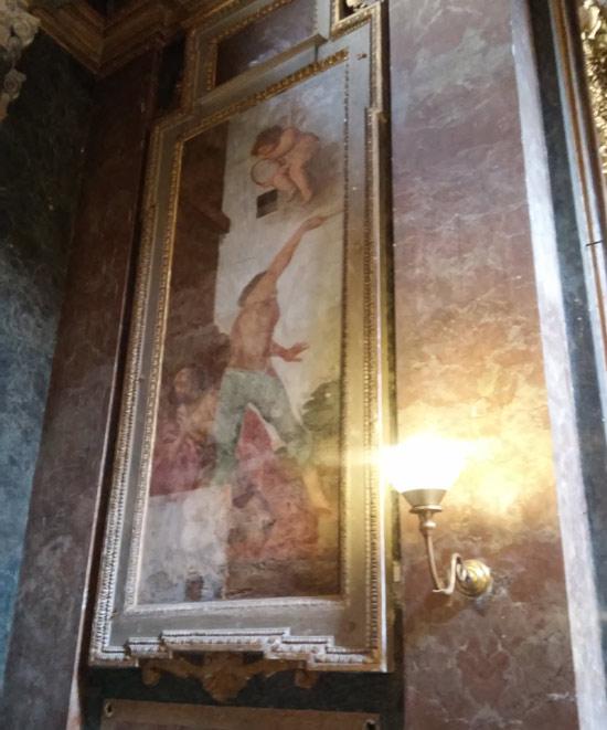 Giovanni Baglione, Martirio di un santo diacono (1630)