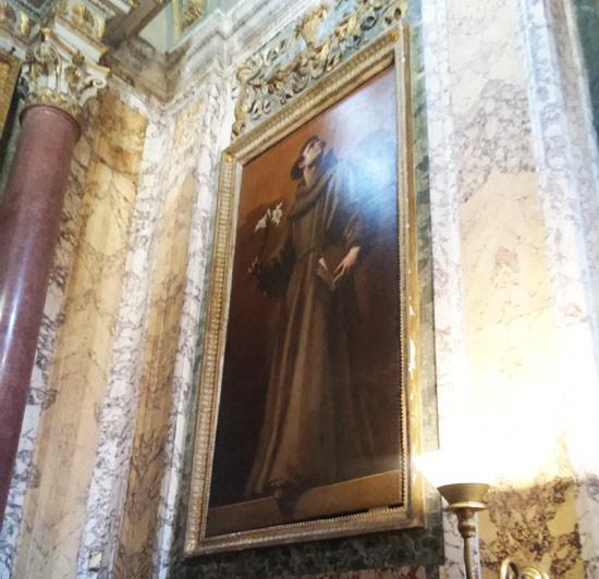 Giovanni Baglione, Sant'Antonio da Padova (1624)