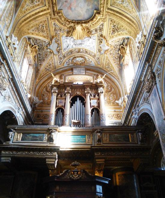 L'organo dell'Università dei Molinari