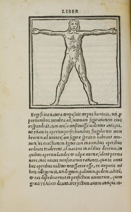 Fra' Giocondo da Verona, Homo ad quadratum