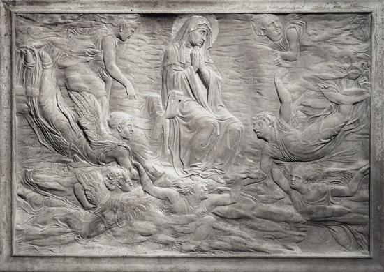 Donatello, Assunzione della Vergine