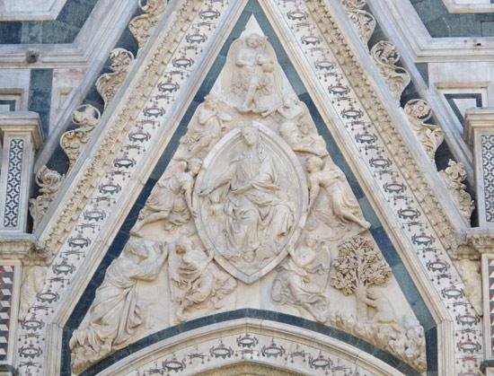 Nanni di Banco, Assunzione della Vergine
