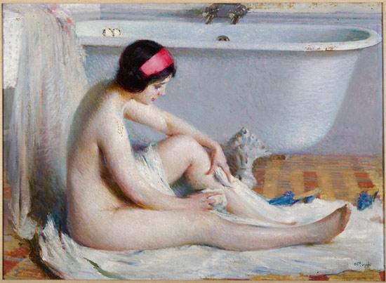 Emilio Rizzi, La toilette