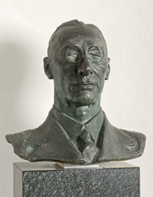 Luciano Ricchetti, Ritratto di Giuseppe Ricci Oddi