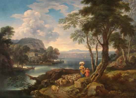 Carlo Tavella, Paesaggio lacustre