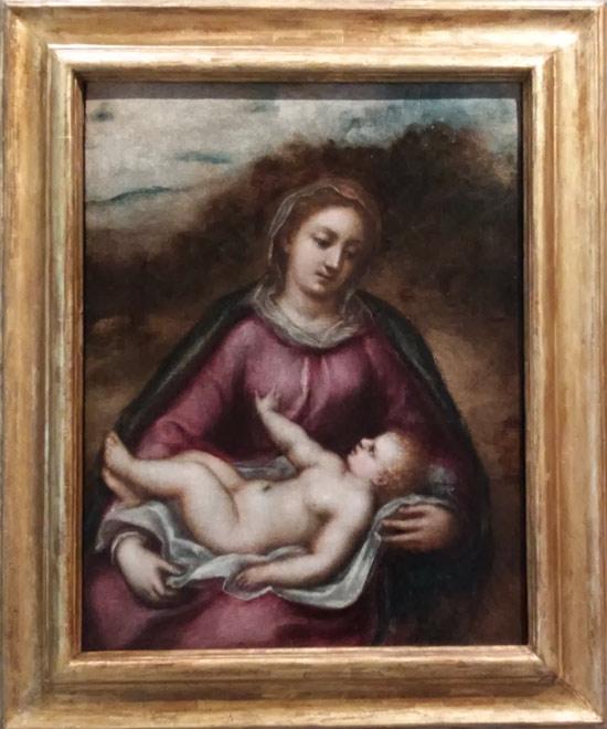 Cesare Corte, Madonna col Bambino
