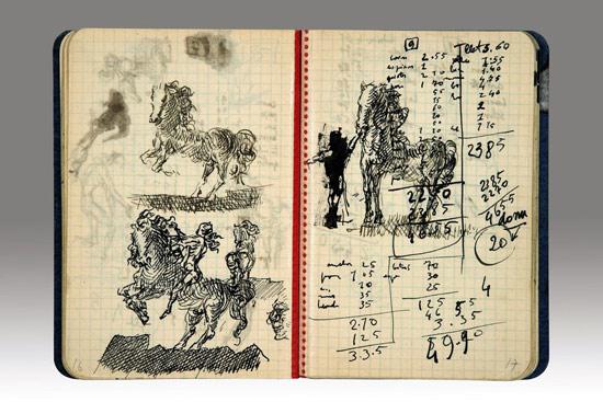 Cavalli dal diario di Salvaro Dalí